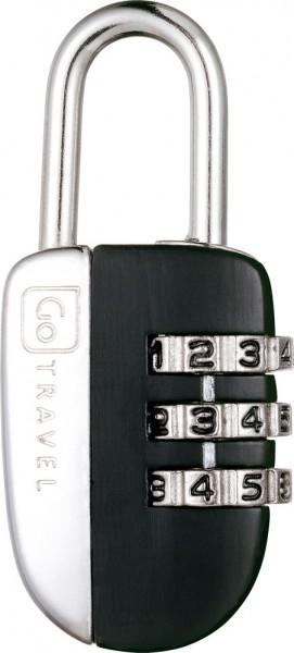 No-Key Padlock (Black) Zahlenkombinationsschloss