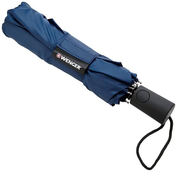 Wenger Regenschirm Taschenschirm (Blau) W1204