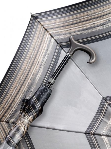 Regenschrim Stützschirm Silberstreif