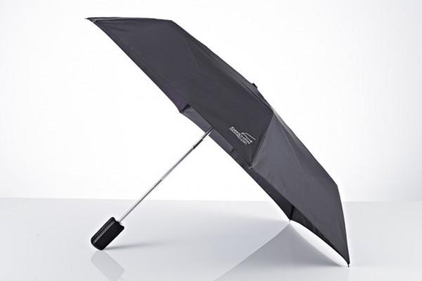 Der superflache Leder-Taschenschirm Euroschirm Regenschirm