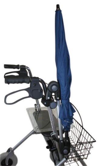 MPB Pieper Schirm für Rollatoren dunkelblau